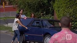 Imogen Willis, Brad Willis, Terese Willis, Toadie Rebecchi in Neighbours Episode 7046