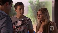 Matt Turner, Josh Willis, Amber Turner in Neighbours Episode 7046