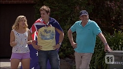 Georgia Brooks, Kyle Canning, Karl Kennedy in Neighbours Episode 7046