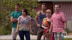 Matt Turner, Naomi Canning, Mark Brennan, Sheila Canning, Toadie Rebecchi in Neighbours Episode 7046
