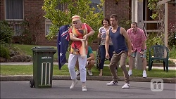 Sheila Canning, Matt Turner, Naomi Canning, Mark Brennan, Toadie Rebecchi in Neighbours Episode 7046