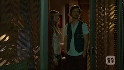 Amber Turner, Daniel Robinson in Neighbours Episode 7046