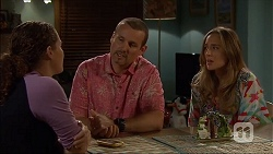 Cat Rogers, Toadie Rebecchi, Sonya Mitchell in Neighbours Episode 7047