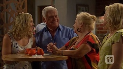 Georgia Brooks, Lou Carpenter, Sheila Canning, Lauren Turner in Neighbours Episode 7047
