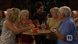 Georgia Brooks, Sheila Canning  Lauren Turner, Lou Carpenter in Neighbours Episode 7047