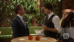 Paul Robinson, Chris Pappas in Neighbours Episode 7047