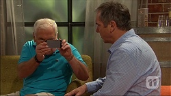 Lou Carpenter, Karl Kennedy in Neighbours Episode 7047