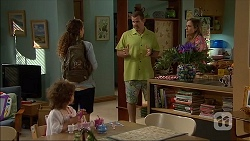 Nell Rebecchi, Cat Rogers, Toadie Rebecchi, Sonya Mitchell in Neighbours Episode 7047