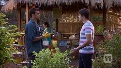 Nate Kinski, Chris Pappas in Neighbours Episode 7048