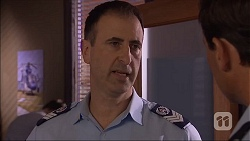 Snr Sgt Milov Frost, Matt Turner in Neighbours Episode 7048