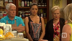Lou Carpenter, Paige Smith, Sheila Canning, Lauren Turner in Neighbours Episode 7048