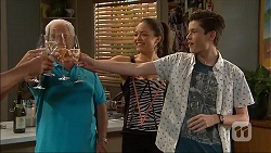 Lou Carpenter, Paige Smith, Bailey Turner in Neighbours Episode 7048