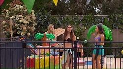 Amber Turner, Paige Novak, Imogen Willis in Neighbours Episode 7049