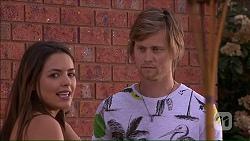 Paige Novak, Daniel Robinson in Neighbours Episode 7049
