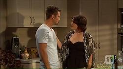 Mark Brennan, Naomi Canning in Neighbours Episode 7049