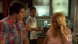 Chris Pappas, Nate Kinski, Lucy Robinson in Neighbours Episode 7050