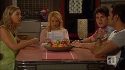 Georgia Brooks, Lucy Robinson, Chris Pappas, Nate Kinski in Neighbours Episode 7050