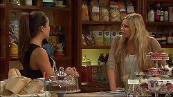 Paige Smith, Amber Turner in Neighbours Episode 7050