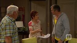 Lou Carpenter, Susan Kennedy, Karl Kennedy in Neighbours Episode 7050