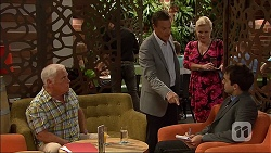 Lou Carpenter, Paul Robinson, Sheila Canning, Howard Hall in Neighbours Episode 7050