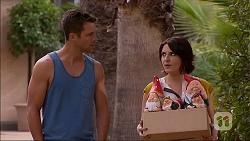Mark Brennan, Naomi Canning in Neighbours Episode 7053