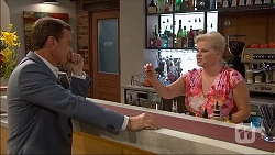 Paul Robinson, Sheila Canning in Neighbours Episode 7053