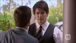 Paul Robinson, Chris Pappas in Neighbours Episode 7053
