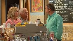 Lauren Turner, Lou Carpenter, Karl Kennedy in Neighbours Episode 7054