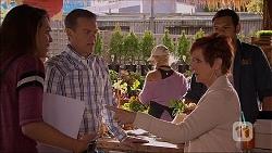 Paige Novak, Paul Robinson, Susan Kennedy, Nate Kinski in Neighbours Episode 7054
