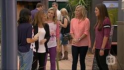 Imogen Willis, Terese Willis, Georgia Brooks, Lauren Turner, Paige Novak in Neighbours Episode 7055