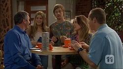 Karl Kennedy, Amber Turner, Daniel Robinson, Sonya Mitchell, Toadie Rebecchi in Neighbours Episode 7055