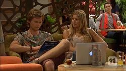 Daniel Robinson, Amber Turner, Josh Willis in Neighbours Episode 7055
