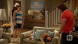 Josh Willis, Imogen Willis, Brad Willis in Neighbours Episode 7056