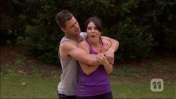 Mark Brennan, Naomi Canning in Neighbours Episode 7056