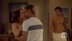 Naomi Canning, Mark Brennan, Tyler Brennan in Neighbours Episode 7057