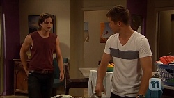 Tyler Brennan, Mark Brennan in Neighbours Episode 7057