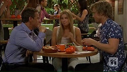 Paul Robinson, Amber Turner, Daniel Robinson in Neighbours Episode 7058
