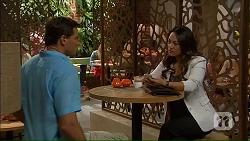 Matt Turner, Michelle Kim in Neighbours Episode 7058