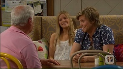 Lou Carpenter, Amber Turner, Daniel Robinson in Neighbours Episode 7059