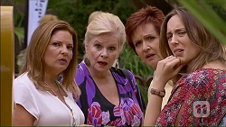 Terese Willis, Sheila Canning, Susan Kennedy, Sonya Rebecchi in Neighbours Episode 7059