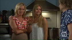 Lauren Turner, Amber Turner, Daniel Robinson in Neighbours Episode 7059