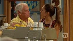 Lou Carpenter, Paige Novak in Neighbours Episode 7060