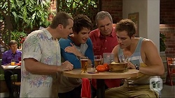 Toadie Rebecchi, Chris Pappas, Karl Kennedy, Kyle Canning in Neighbours Episode 7060