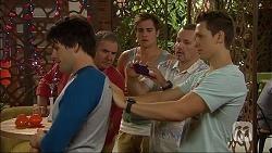 Chris Pappas, Karl Kennedy, Kyle Canning, Toadie Rebecchi, Josh Willis in Neighbours Episode 7060