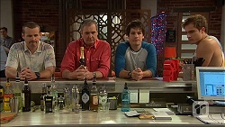 Toadie Rebecchi, Karl Kennedy, Chris Pappas, Kyle Canning in Neighbours Episode 7060