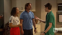 Imogen Willis, Brad Willis, Bailey Turner in Neighbours Episode 7061
