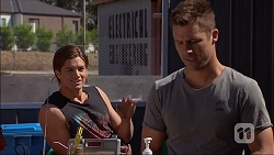 Tyler Brennan, Mark Brennan in Neighbours Episode 7061