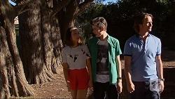 Imogen Willis, Bailey Turner, Brad Willis in Neighbours Episode 7061