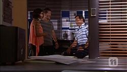 Naomi Canning, Mark Brennan, Matt Turner in Neighbours Episode 7061