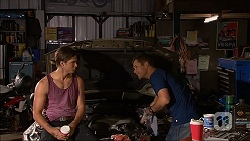 Tyler Brennan, Mark Brennan in Neighbours Episode 7062